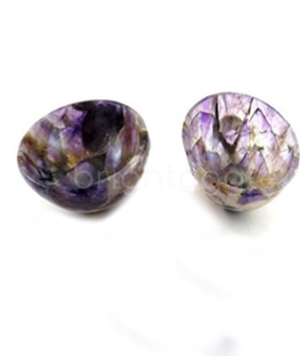 Amethyst Singing Wholesale Agate bowls Size 3 inches