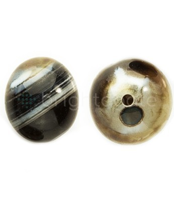 Black Banded Chalcedony Balls Wholesale Gemstone Spheres Balls