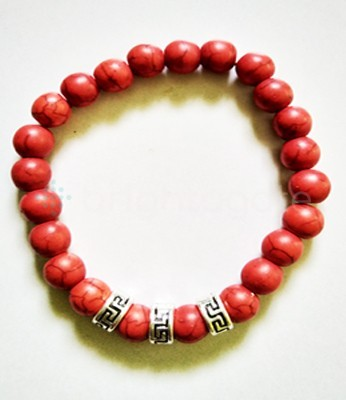 Fency Red Corel Bracelet