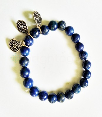 Lapis Lazuli Good Luck Fency Bracelet