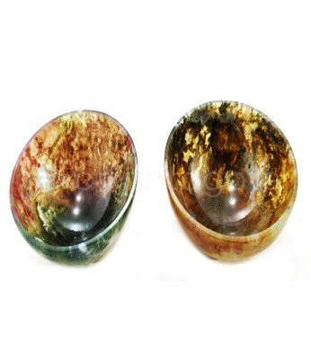 Moos agate Wholesale Agate bowls Size 3 inches