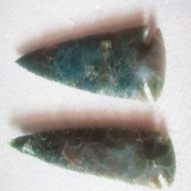 Wholesale 3 inch agate Arrowheads