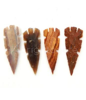 1.5 inch Agate Arrowheads