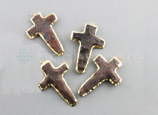 Black Jasper Cross Agate Arrowheads Suppliers
